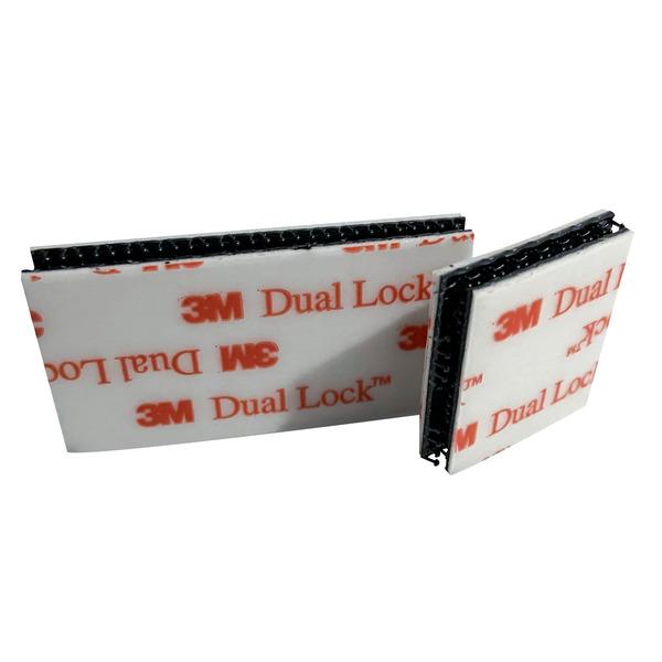 """3M™ Befestigungs-Set / Druckschlussband """"Dual Lock™"""" - zur Wandaufhängung von Endgeräten geeignet"""