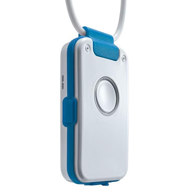 Notrufsender DECT indePendant Pro, blau, privater Hausnotruf, mit intelligenter Sturzerkennung