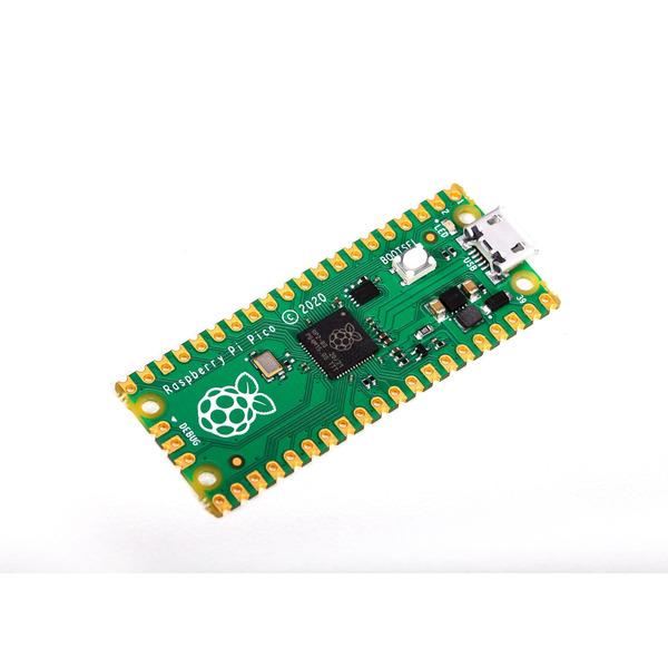 Raspberry Pi Pico, Minicomputer für Steckboards