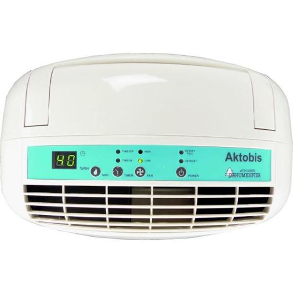 Aktobis Kompressor-Luftentfeuchter WDH 520EB, 25 l/24 h, ca. 50 m², 5,3 l Tank