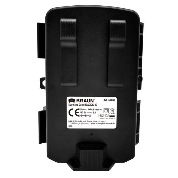 Braun Fotofalle / Wildkamera Scouting Cam BLACK1300, 13-MP-CMOS, 4K, IP66