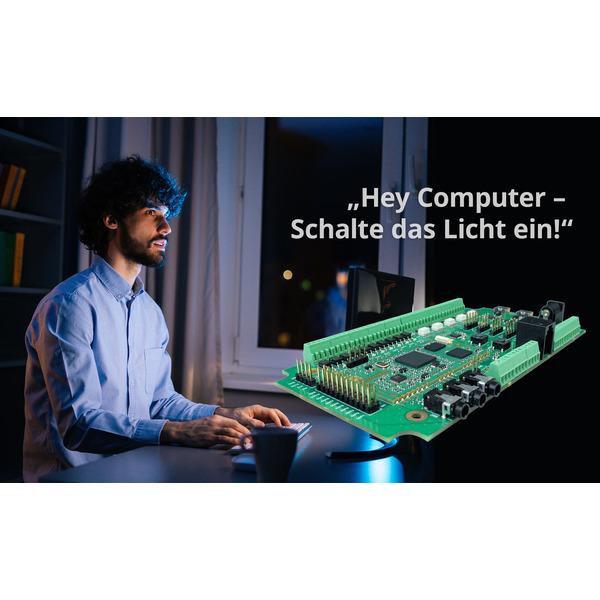 vicCONTROL go kit, Offline Sprachsteuerung