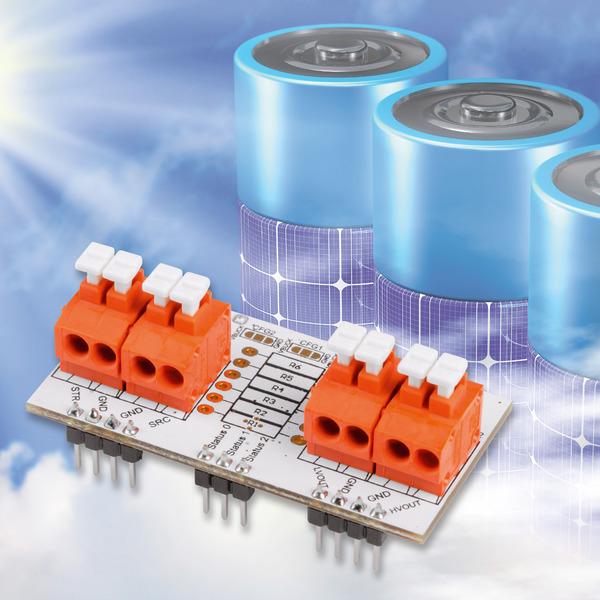 Einfach Energie ernten - Universelles Energy Harvesting Modul UEH80