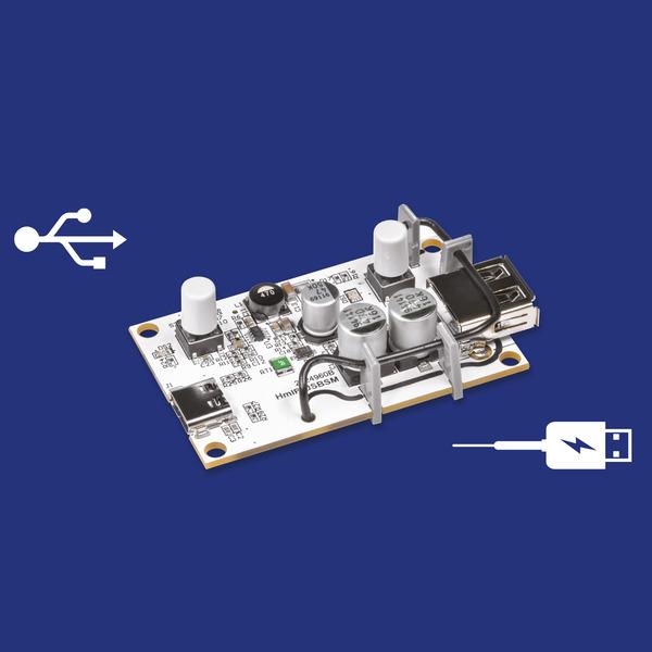 Intelligent schalten und messen - Homematic IP Schalt-Mess-Aktor für USB HmIP-USBSM