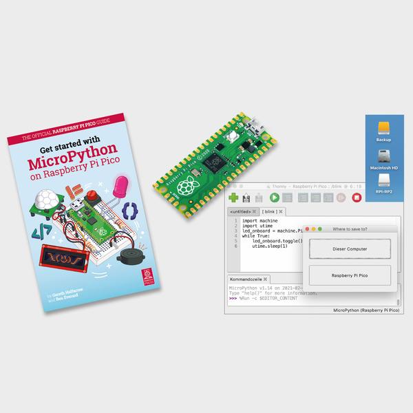 Der etwas andere Raspberry Pi - Raspberry Pi Pico mit Raspberry Silicon