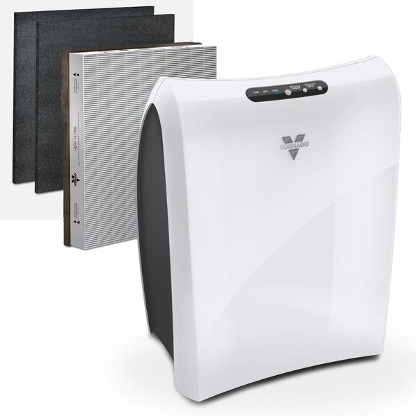 Vornado Luftreiniger AC350, HEPA14, inkl. 2 Filter, bis zu 30 m² Raumgröße