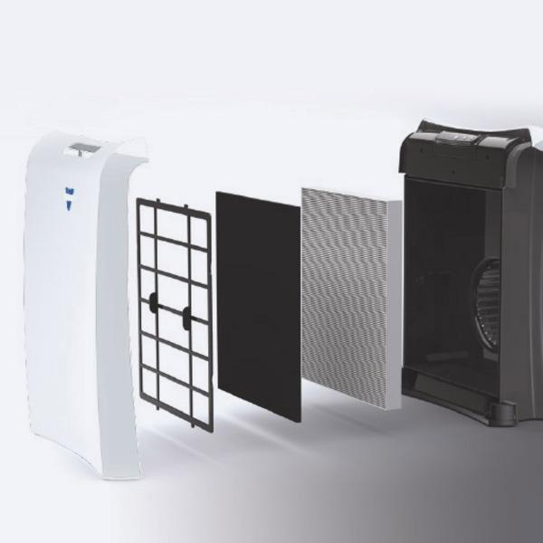 Vornado Luftreiniger AC350, HEPA14, bis zu 30 m² Raumgröße, bis zu 228 m³/h