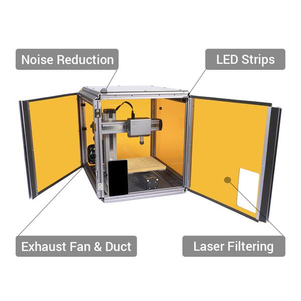 Snapmaker 2.0 modularer 3-in-1 3D-Drucker A150, WLAN, inkl. Gehäuse