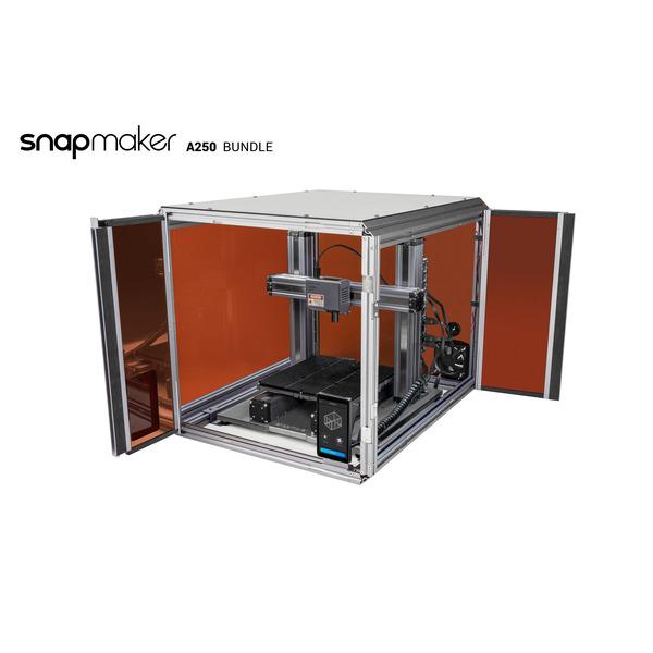 Snapmaker 2.0 modularer 3-in-1 3D-Drucker A250, WLAN, inkl. Gehäuse