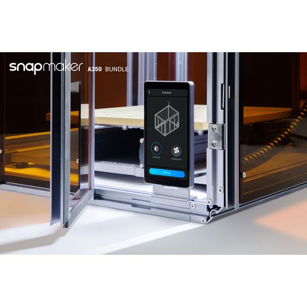 Snapmaker 2.0 modularer 3-in-1 3D-Drucker A350, WLAN, inkl. Gehäuse