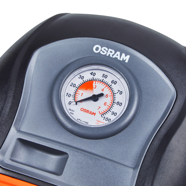 OSRAM Luftkompressor TYREinflate 200, z. B. für Kfz-/Fahrradreifen, 120 W, 10 A
