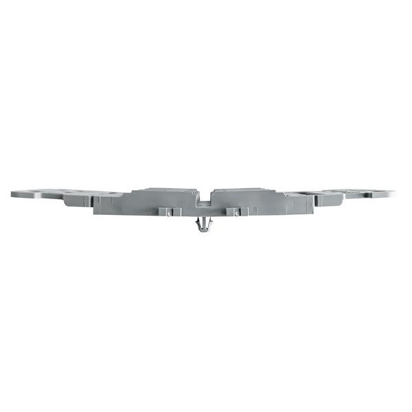 WAGO Befestigungsadapter mit Zugentlastung, 221-2513, 3-fach, für Durchgangsverbinder
