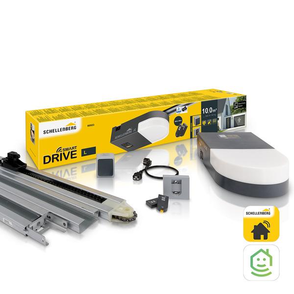 Schellenberg Garagentorantrieb Smart DRIVE L, 600 N, 868,4 MHz
