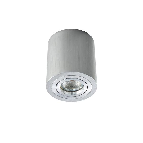 HEITRONIC Aufbaustrahler ADL9301 für GU10, schwenk- und drehbar, Aluminium