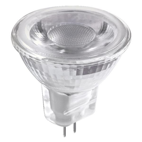 HEITRONIC 3-W-GU4-LED-Lampe, MR11, Reflektorform, warmweiß