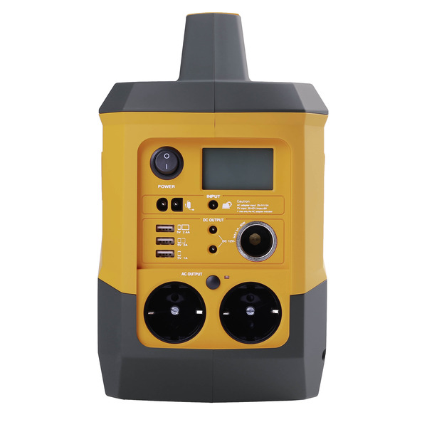 Kodak Portable Power Station PPS800 mit 756 Wh, Li-Ion-Akku und 2x Steckdose - bis zu 1200 W Spitze