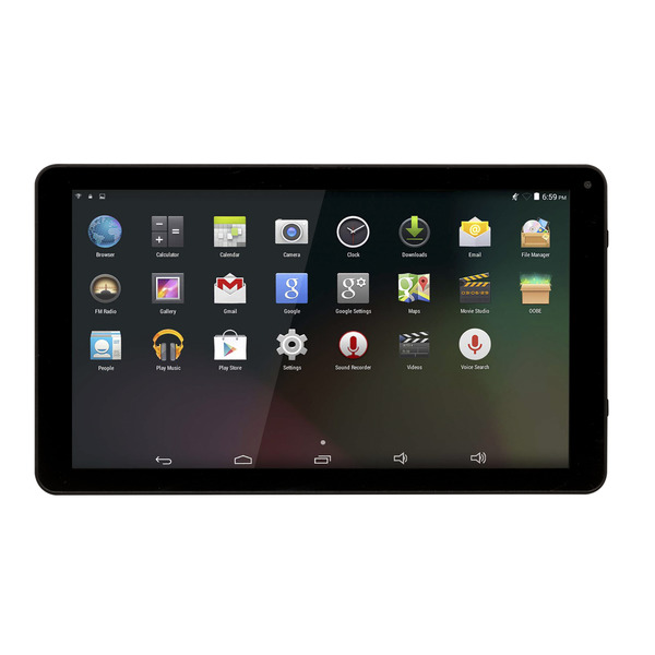 "Denver Tablet TAQ-10283, 25,65-cm-Display (10,1""), 1024x600p, 1,2 GHz Quad-Core CPU, Android 8.1"