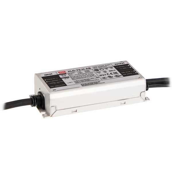 Mean Well Konstantstrom-Netzteil XLG-75-H-AB, 75 W, 1400 mA, 27 - 56 VDC, dimmbar, IP67