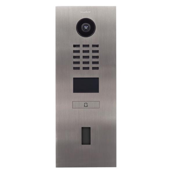 Doorbird IP-Video-Türsprechanlage D2101FV ekey, Edelstahl V2A