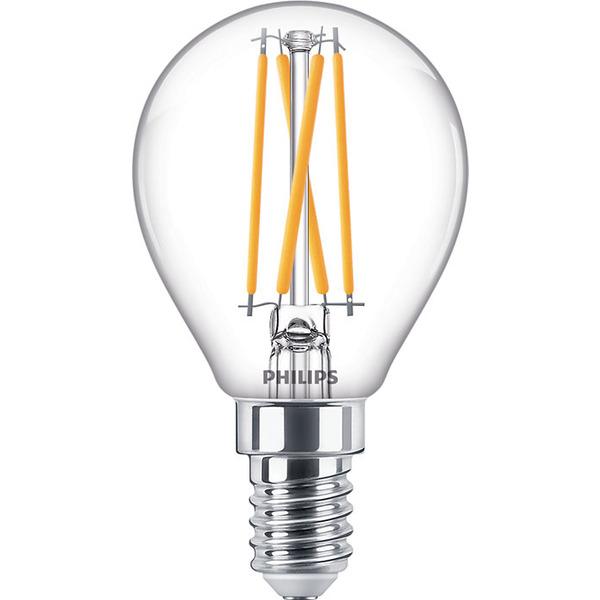 Philips 3.2-W-LED-Tropfenlampe Classic LEDluster, E14, 250 lm, dimmbar, warmweiß