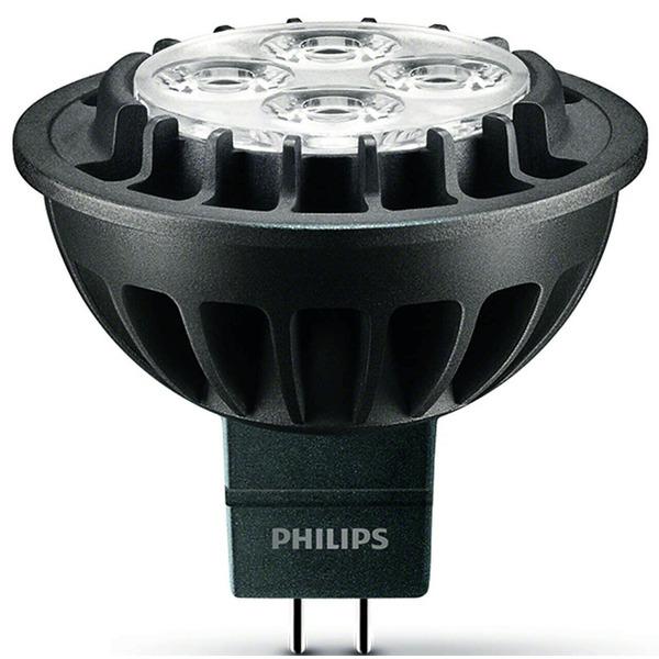Philips 7-W-GU5.3-LED-Lampe Master LEDspot LV, 420 lm, dimmbar, warmweiß