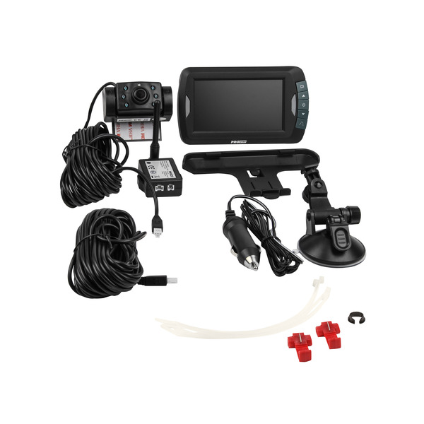PROUSER Funk-Rückfahr-Kamerasystem APR043, 12 V, mit Nachtsichtkamera