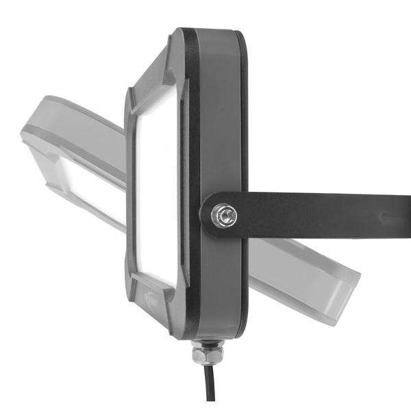 Ansmann 30-W-LED-Flutlichtstrahler WFL2400AC, 2400 lm, 5000 K, IP54, schwarz