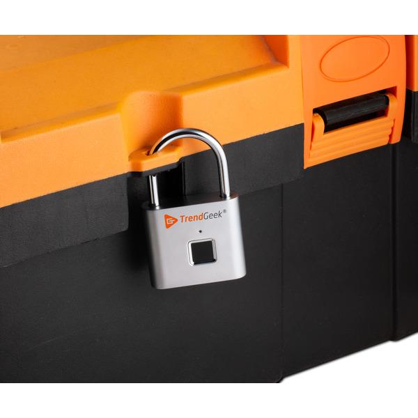 Technaxx Vorhängeschloss mit Fingerabdrucksensor TG-131