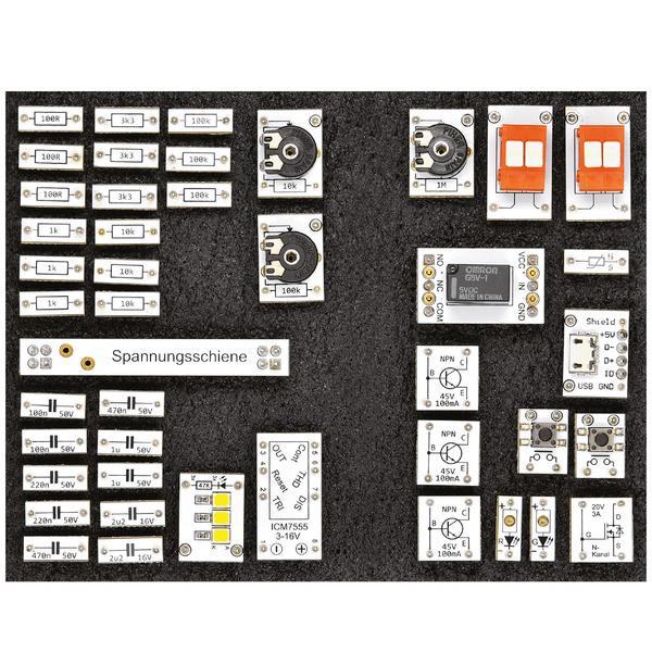 Experimentierset-Prototypenadapter - Elektronik-Einsteiger-Kit