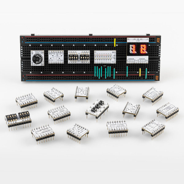 Einfach logisch - Prototypenadapter PAD6 - CMOS-Logik Teil 2
