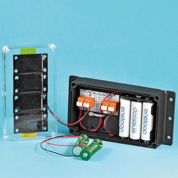 Solar-Lader - Projekt Energie-Ernte mit dem UEH80