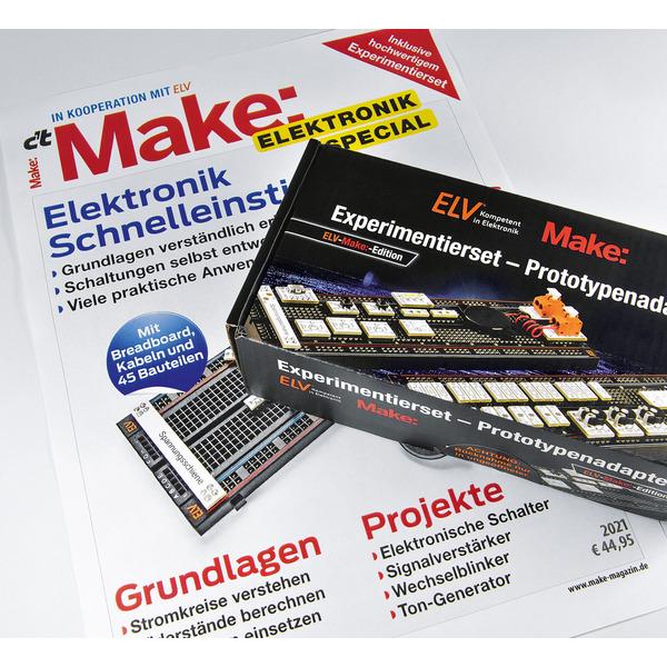 ELV Experimentierset-Prototypenadapter inkl. Make Sonderheft