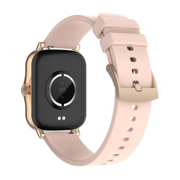 """FontaFit Smartwatch 480CH """"TALIS"""", rosé, mit Blutsauerstoffmessung und Schlafüberwachung, IP67"""