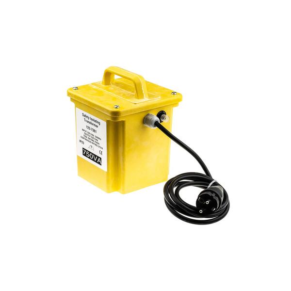 RS PRO Trenntransformator, Primär 230 VAC/Sekundär 230 V, 375 VA