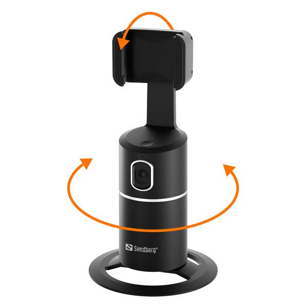 Sandberg Intelligente Smartphone-Halterung 134-29, mit Bewegungserkennung, 2.200 mAh