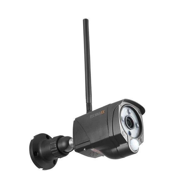 Technaxx WLAN-IP-Außenkamera TX-145, Full HD (1080p), 2,4 GHz, IP66