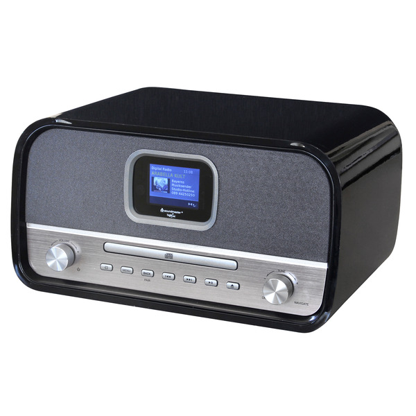Soundmaster Stereo-Musikcenter DAB970SW, DAB+/UKW, Bluetooth, CD-Player, 30-W-RMS