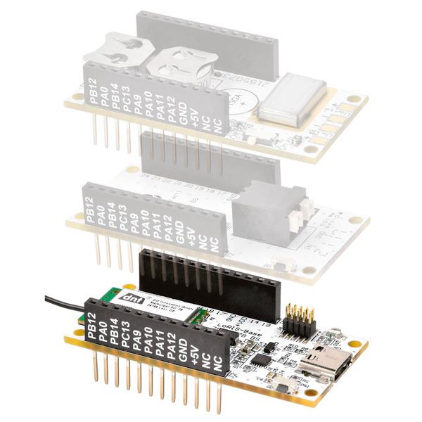 Stromsparendes IoT-System - LoRaWAN-Experimentierplattform LoRIS-Base LoRIS-BM-TRX1