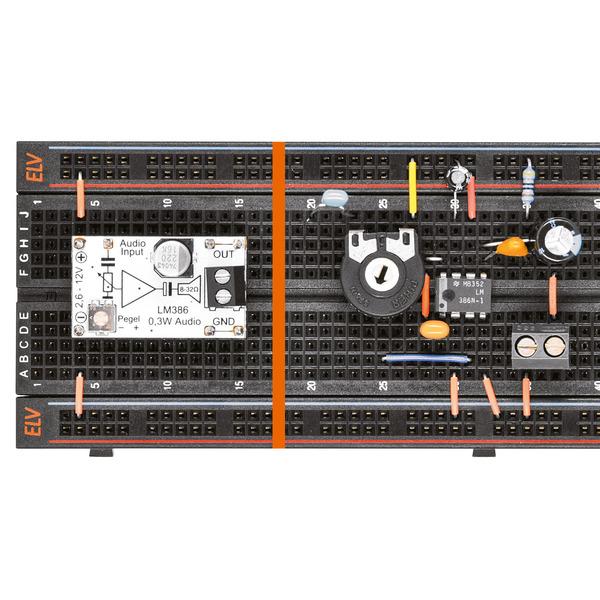 Audio-Experimente einfach gemacht - Prototypenadapter PAD7 Audio