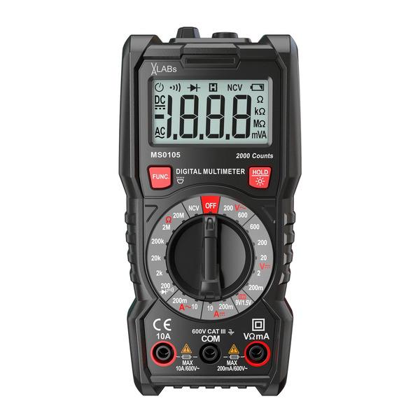 VA-LABs Digital-Multimeter, 2.000 Counts