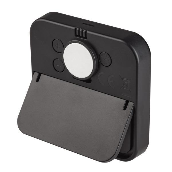 TFA Digitales Thermo-Hygrometer BLACK mit E-Paper-Display, Klimakomfortanzeige, schwarz