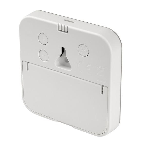 TFA Digitales Thermo-Hygrometer WHITE mit E-Paper-Display, Klimakomfortanzeige, weiß