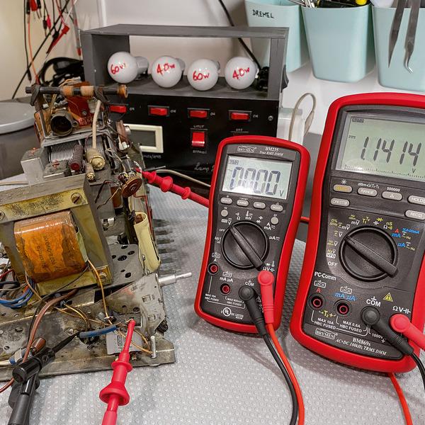 Röhrenradio-Restaurierung - Die Spannungsversorgung Teil 3