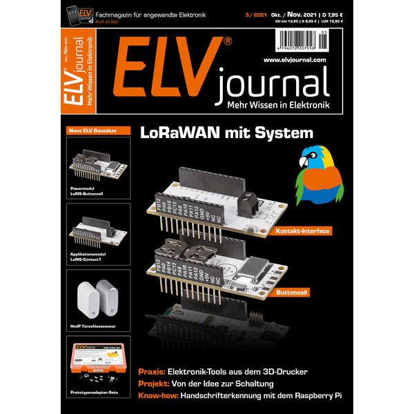 ELVjournal Ausgabe 5/2021 Digital (PDF)