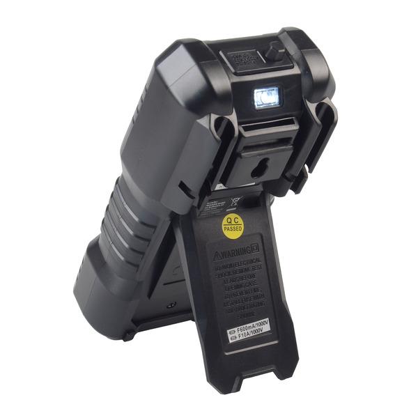 Enovalab TrueRMS Digital-Multimeter mit Dual LC-Display und Buchsenbeleuchtung, 6.000 Counts