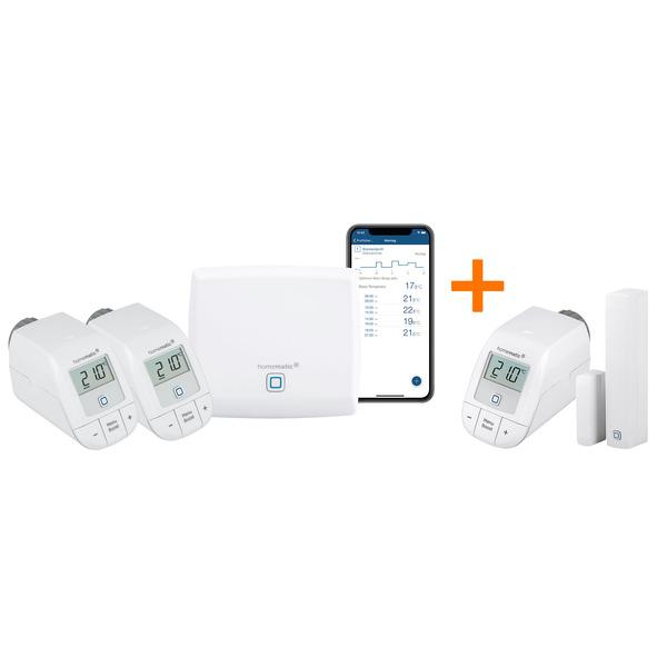 Homematic IP Starter Set Heizen HmIP-SK16 + Starter Set Heizen easy connect