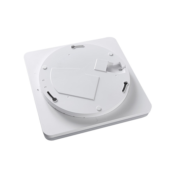 HEITRONIC 24-W-Sensor-LED-Wand-/Deckenleuchte Pronto mit HF-Bewegungsmelder, eckig, warmweiß, IP54